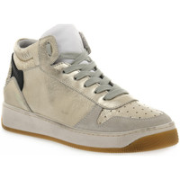 Zapatos Mujer Multideporte At Go GO 584 VELOUR GHIACCIO Bianco