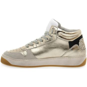 At Go GO 584 VELOUR GHIACCIO Bianco - Zapatos Multideporte Mujer 12375