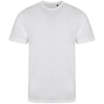 textil Hombre Camisetas manga corta Awdis JT001 Blanco sólido