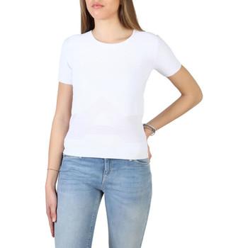 textil Mujer Camisetas manga corta Armani jeans - 3y5m2l_5m22z Blanco