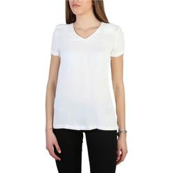 textil Mujer Camisetas manga corta Armani jeans - 3y5h43_5nyfz Blanco