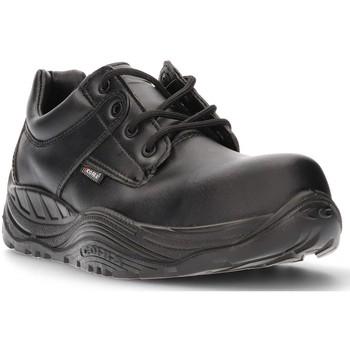 Zapatos Hombre Zapatillas bajas Calzamedi DE SEGURIDAD COFRA SAGUYS CABALLERO NEGRO