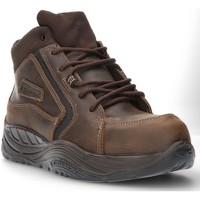 Zapatos Hombre Zapatillas altas Calzamedi DE SEGURIDAD COFRA ESALEN S3 SAGUYS M MARRON