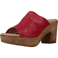 Zapatos Mujer Zuecos (Mules) Cokketta 1212Y Rojo