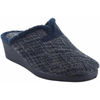 Zapatos Mujer Pantuflas Garzon Ir por casa señora  175.421 azul Azul