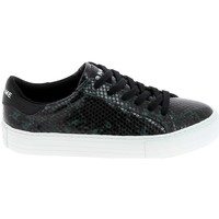 Zapatos Mujer Zapatillas bajas No Name Arcade Print Kobra Noir Vert Fonce Negro