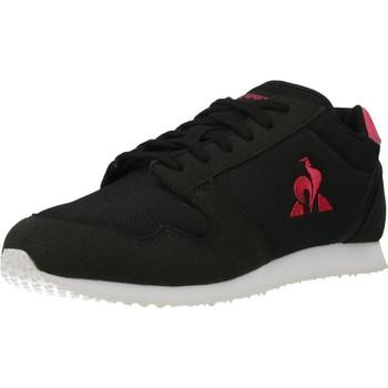 Zapatos Niña Zapatillas bajas Le Coq Sportif JAZY GS GIRL SPORT Negro