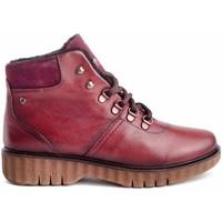 Zapatos Mujer Botines Giorda 24651 Rojo
