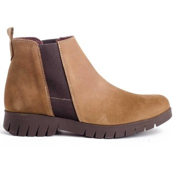 Zapatos Mujer Botines Funchal 29508 Beige
