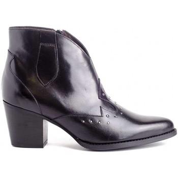Zapatos Mujer Botines Kissia 377 TACHAS Negro