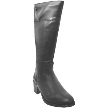 Zapatos Mujer Botas urbanas Caprice 9-25551-25 Cuero negro