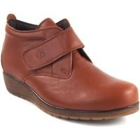 Zapatos Mujer Botines Bellatrix Botín señora  7546 cuero Marrón