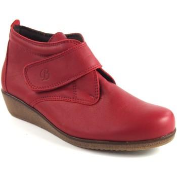Zapatos Mujer Botines Bellatrix Botín señora  7546 rojo Rojo