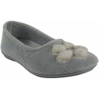 Zapatos Mujer Pantuflas Garzon Ir por casa señora  5460.247 hielo Gris