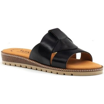 Zapatos Mujer Zuecos (Mules) Wikers 89223 Negro