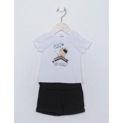 textil Niña Conjunto Ativo C2110 Blanco