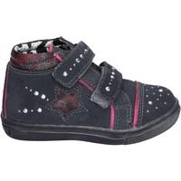 Zapatos Niña Zapatillas altas Didiblu sneakers gamuza gris