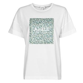 textil Mujer Camisetas manga corta Aigle RAOPTELIB Blanco