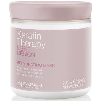 Belleza Mujer Acondicionador Alfaparf Lisse Design Keratin Therapy Rehydrating Mask  200 ml
