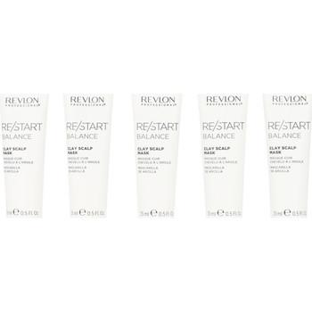 Belleza Mujer Acondicionador Revlon Re-start Balance Clay Scalp Mask 10x15 Ml 150 ml