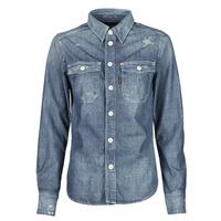 textil Mujer Camisas G-Star Raw KICK BACK WORKER SHIRT WMN L\S Azul / Medium