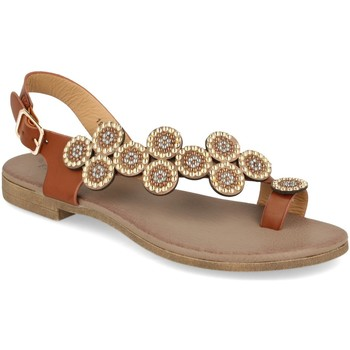 Zapatos Mujer Sandalias Festissimo 19137-1 Camel
