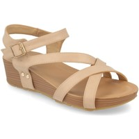 Zapatos Mujer Sandalias Encor D063 Beige