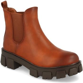 Zapatos Mujer Botines Ainy 2052 Camel