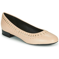 Zapatos Mujer Bailarinas-manoletinas Geox D WISTREY Rosa / Oro