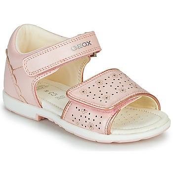Zapatos Niña Sandalias Geox B VERRED Rosa