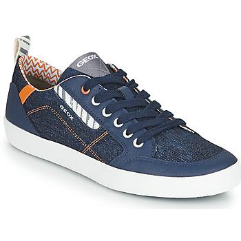 Zapatos Zapatillas bajas Geox JR KILWI GARÇON Azul