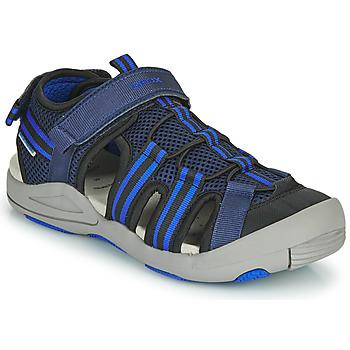 Zapatos Sandalias Geox JR SANDALE KYLE Azul