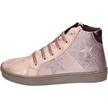 Zapatos Niña Deportivas Moda Asso sneakers cuero sintético rosa