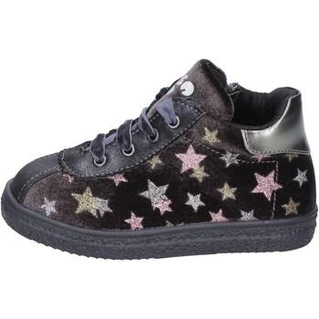 Zapatos Niña Deportivas Moda Asso sneakers terciopelo gris