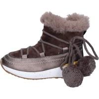 Zapatos Niña Botines Asso botines textil beige