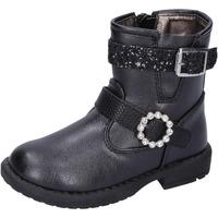 Zapatos Niña Botines Asso botines cuero sintético negro