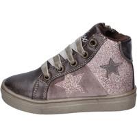 Zapatos Niña Deportivas Moda Asso sneakers cuero sintético bronce