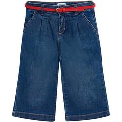 textil Niña Vaqueros rectos Mayoral Pantalon culotte Azul