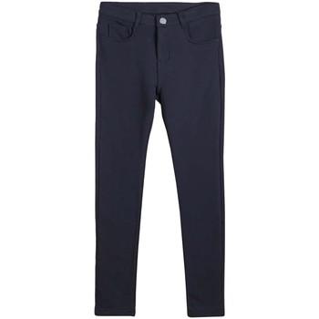 textil Niña Pantalones Mayoral Pantalon felpa basico Azul