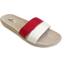 Zapatos Mujer Chanclas Brasileras Sandalia ®,Tren Pala Combi Red/White