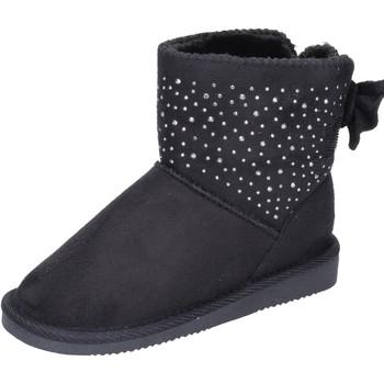 Zapatos Niña Botines Asso botines gamuza sintética negro
