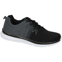Zapatos Hombre Zapatillas bajas Demax Deportivas comfort GRIS-NEGRO