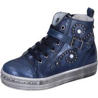 Zapatos Niña Deportivas Moda Eb sneakers cuero azul