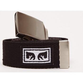 Accesorios textil Hombre Cinturones Obey Big boy web belt Negro