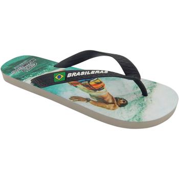 Zapatos Hombre Chanclas Brasileras Chancla ®,Printed 360º SS19 Black/Black