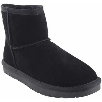 Zapatos Mujer Botas de nieve Kelara Botín señora  k01208 negro Negro