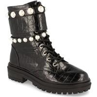 Zapatos Mujer Botines Buonarotti 1CE-0414 Negro