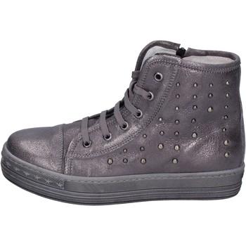 Zapatos Niña Zapatillas altas Eb sneakers cuero gris