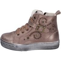 Zapatos Niña Zapatillas bajas Eb sneakers cuero marrón