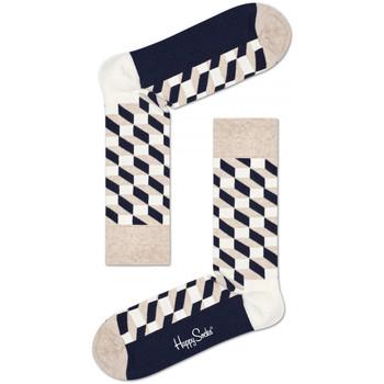 Accesorios Hombre Calcetines Happy Socks Filled optic sock Multicolor